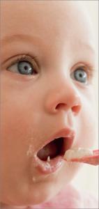 Lo svezzamento dopo l'allattamento al seno