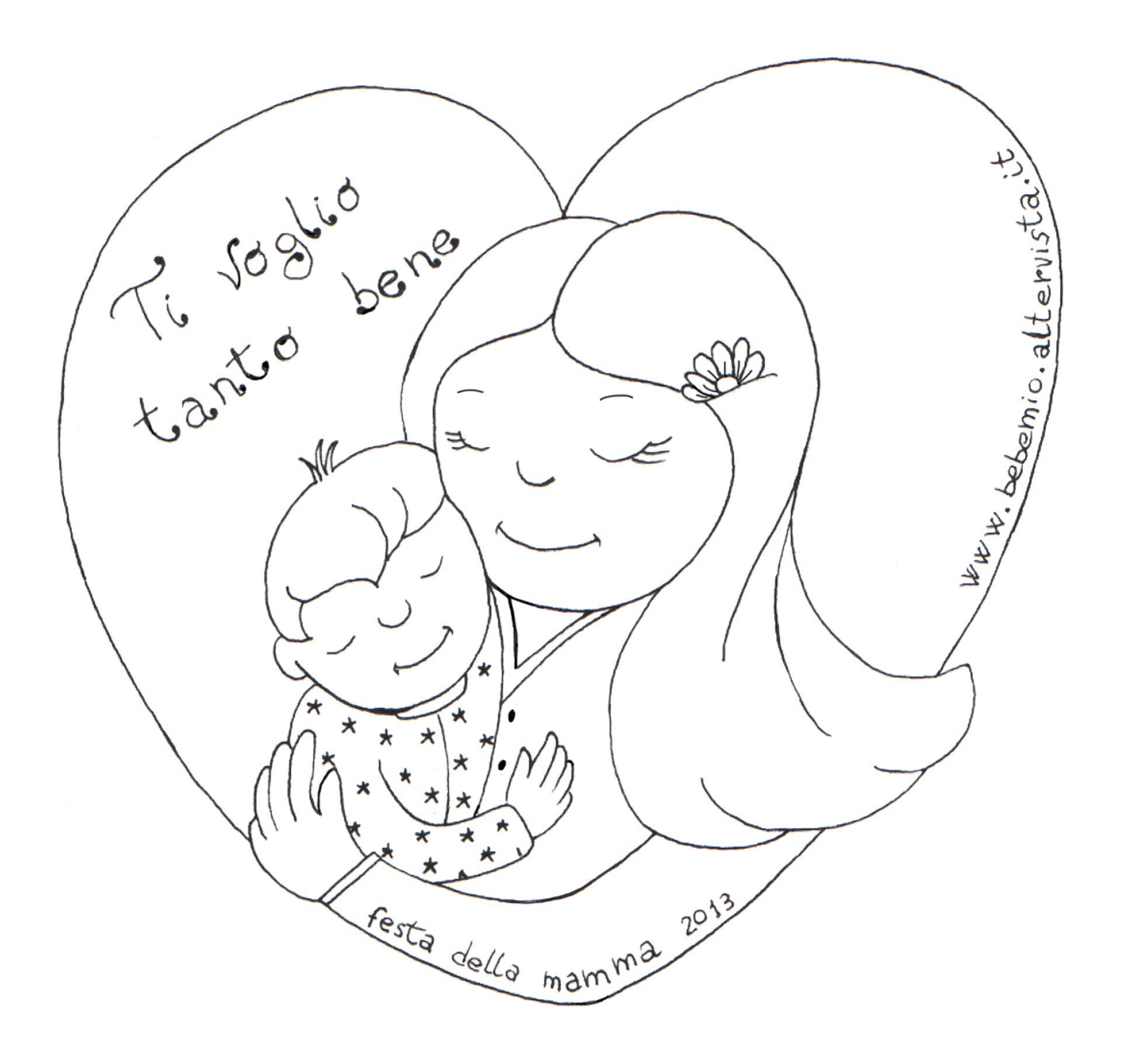 Disegno festa della mamma 2013