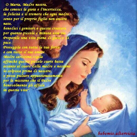 Preghiera per le mamme in attesa di Madre Teresa di Calcutta
