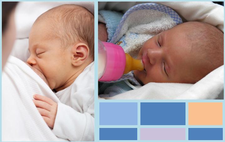 Il latte materno è diverso dal latte sintetico per neonati?